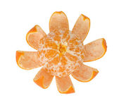 Tangerine isloated on white background — 图库照片