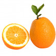 Orange and its section — Stock Photo #2000259