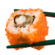 Royalty-Free Stock Photo: Sushi with chopsticks