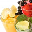 Fruits cocktails — Stock Photo
