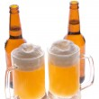 Two mugs of beer — Stock Photo #1814789