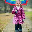 Girl with umbrella — Stock Photo #1890165