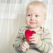 Royalty-Free Stock Photo: Little boy with heart