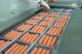 Weenies factory — Stock Photo