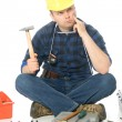 Royalty-Free Stock Photo: Lost handyman