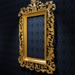 Retro Gold Frame — Stock Photo #1848606