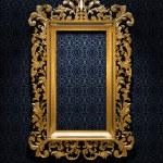 Retro Gold Frame — Stock Photo