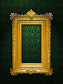 Gold antique frame — Stock Photo