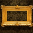 Retro Gold Frame — Stock Photo
