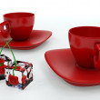Red cup — Stock Photo