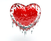 Heart Ice — Stock Photo