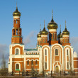 Christmas Cathedral.Omsk.Russia — Stock Photo