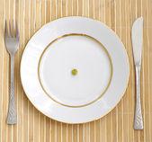 饮食。危机. — 图库照片