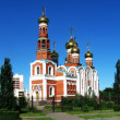 Christmas Cathedral.Omsk.Russia - Stock Photo