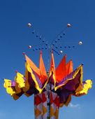 красочные флаги — Стоковое фото