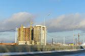 Housing construction — Stock Photo