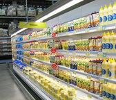 Mayonnaise on shop-board — Stock Photo