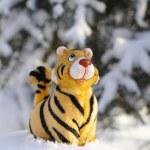 Tiger symbol of 2010 — Stock Photo #1953327