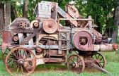 Old Wooden Farming Machine — Stock Photo
