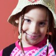 Stock Photo: Girl with hat