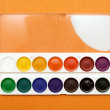Stock Photo: Watercolor paints