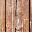 Wooden fence - Stock Photo