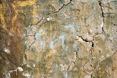 Plaster cement a crack — Stock Photo