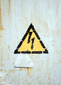 High Voltage Symbol — Stock Photo
