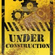 Stock Photo: Under construction