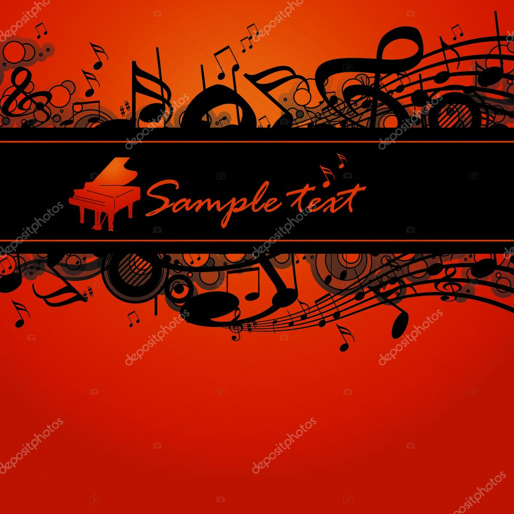Beautiful music background — Stock Photo #1922854