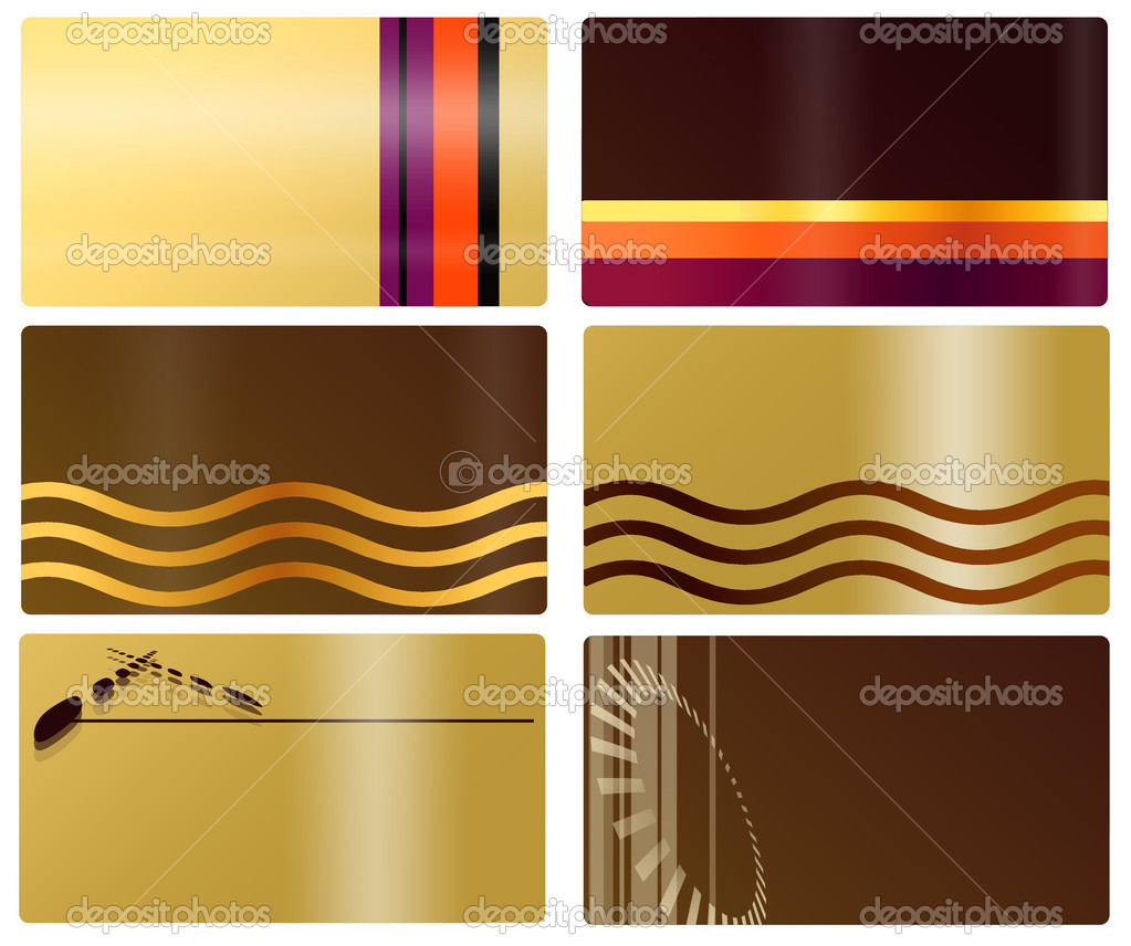 Business card — Stock © Gori1984