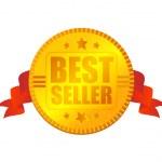 Bestseller medal — Stock Vector #1756582