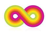 Símbolo del infinito — Vector de stock