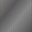 Perforated metal background - Vettoriali Stock