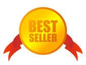 Bestseller medalj — Stockvektor