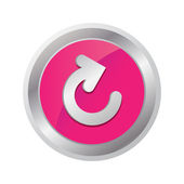 Reload button — Vector de stock