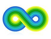 символ бесконечности — Cтоковый вектор