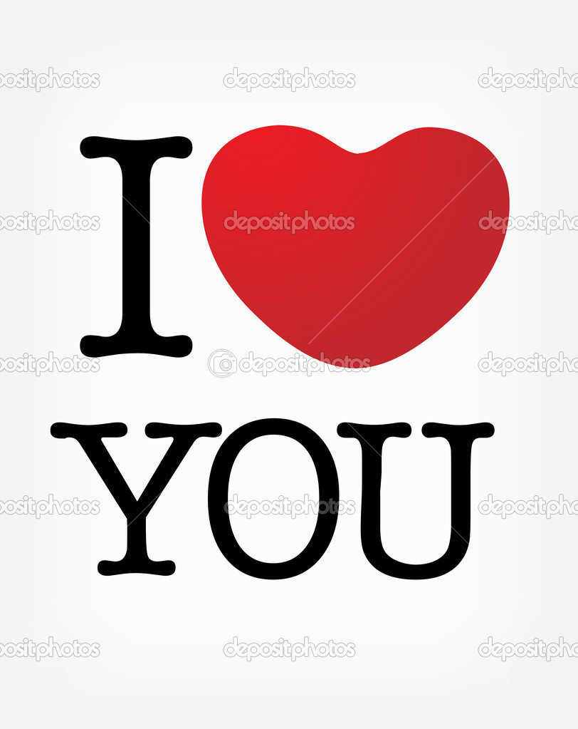 I love you — Stock Vector #1953605