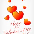 Valentine's day card — Vector de stock #2025803