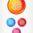 Colorful buttons — Stock Vector #2231068