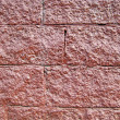 Backgrounds, Wall from red stone — Stock Photo #1818236