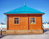 Buildings, Wooden house — Stock Photo