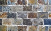 Pozadí, zdi z kamene — Stock fotografie