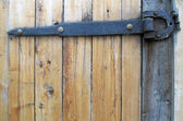 Backgrounds, Wooden gate — Stock Photo
