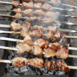 Stock Photo: Food, Shish kebab