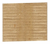 Textures, Corrugated paper — Stock Photo