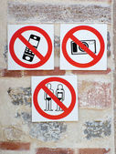 Polite signs — Stock Photo