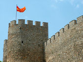 Macedonian castle — Stock Photo
