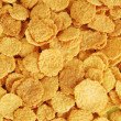 Stock Photo: Corn flakes texture