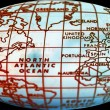 Stock fotografie: Simple world map